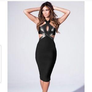 Misguided Nicole Scherzinger dress